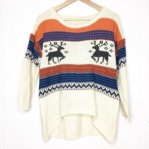 Vintage | Deer Pullover